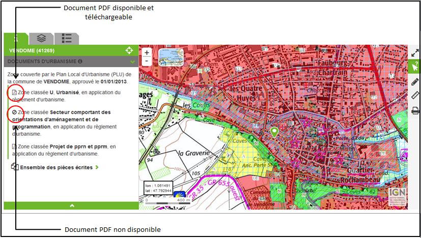 Faq g oportail de l 39 urbanisme - Comment connaitre le proprietaire d une parcelle ...